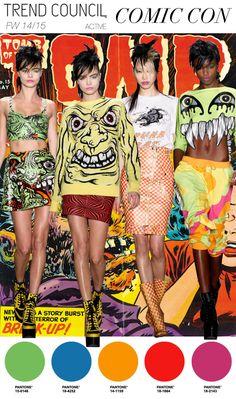 Comic Con #fashion #trend forecast Trend Council