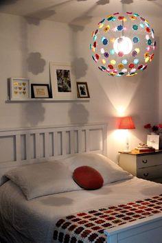 According to Matt...: Crochet Flower Lamp