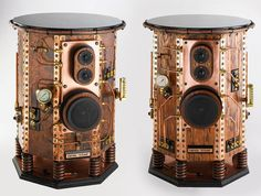 Empire Steam Steampunk speakers by AirhammerIndustries on Etsy, $12600.00