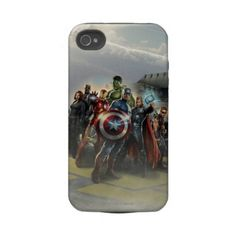 I WANT THIS! Avengers iPhone Case