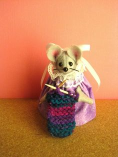 Knitting by atticmouse on Etsy, $10.00