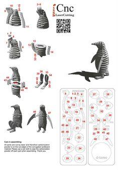 企鹅 - AutoCAD,STL - 3D CAD model - GrabCAD
