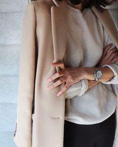 Pretty neutrals and textures via Pinterest