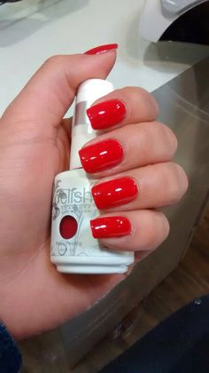 Gelish Red-Y for the Festival at NU.