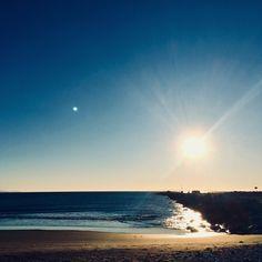 Morning beach in Malaga #Málaga #beach #Sunrise