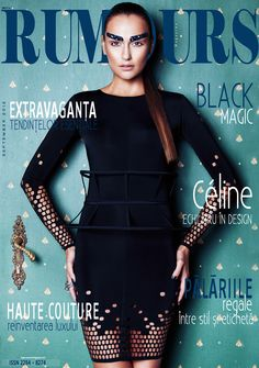 Cover: Elena Natura by Stefan Dani for Rumours September 2012