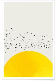 Buy Posters and Wall Art Prints Online Sonne Illustration, Bird Poster, Art Prints Online, Earth Design, Art Mural, Grafik Design, Painting Inspiration, Wall Art Prints, Pop Art