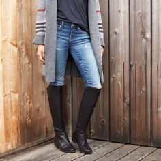 How to Wear Boots with Jeans