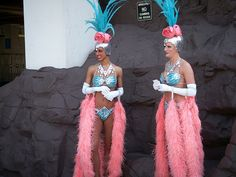 Las Vegas Showgirls from the Folies Bergère at the Tropicana, which closed at the end of March 2009, after nearly 50 years in operation. Description from flickriver.com. I searched for this on bing.com/images