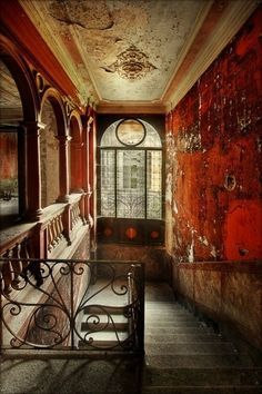 30 Fascinating Abandoned Buildings --- Not abandoned, of course, but I love the architecture! by DenyMacMart Abandoned Buildings, Abandoned Mansions, Old Buildings, Abandoned Places, Amazing Buildings, Beautiful Ruins, Beautiful Places, Beautiful Pictures, Magic Places