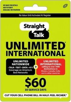 Free Straight Talk reload card codes are here! Visit this website and learn how…