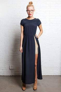 // Gryphon - but I could totally alter a dress to make this myself and not spend $440. LOVE