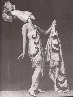 vintage african american flapper photos | Helen Mitchell, 1920's Black Vaudevillian Actress - a photo on ...