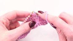 Knitting Help - Picking up Wraps, via YouTube.