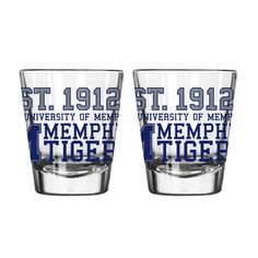 NCAA Barware Set TC Arizona Wildcats, Memphis Tigers