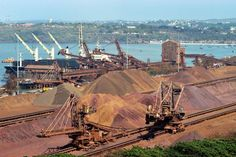 Vedanta to #export 5.5MT #iron ore from Goa in FY16