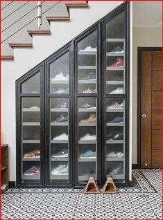 Shoe Storage Furniture, Closet Shoe Storage, Wardrobe Storage, Shoe Storage Ideas Bedroom, Understairs Shoe Storage, Diy Furniture, Shoe Racks For Closets, Storage For Shoes, Shoe Closet Organization