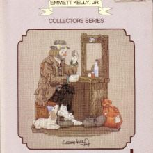 Gallery.ru / Все альбомы пользователя 363636 Emmett Kelly, Cross Stitch, Frame, Clowns, Decor, Punto De Cruz, Crocheting, Dots, Picture Frame