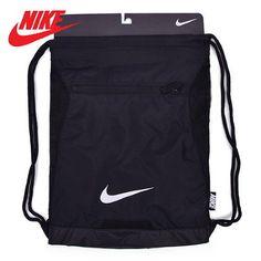 06c1fc5231d0 Nike Alpha Adapt Gym Sack Sports Soccer Football Tennis Bag Black BA5256-010