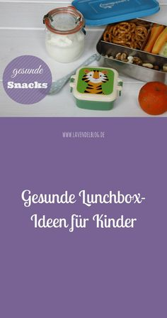 Healthy lunchbox ideas for kids - Kinder - Lunchbox - Gesunde Snacks Bento Box Lunch, Lunch Snacks, Toddler Meals, Kids Meals, Kindergarten Lunch, Health Snacks, Cooking With Kids, Nutrition Education, Fabulous Foods
