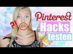 5 verrückte PINTEREST HACKS im TEST + VERLOSUNG | Dagi Bee - YouTube