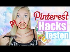 5 verrückte PINTEREST HACKS im TEST + VERLOSUNG | Dagi Bee - YouTube