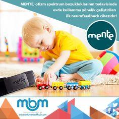 MENTE, otizm spektrum bozukluklarının tedavisinde evde kullanıma yönelik geliştirilen ilk neurofeedback cihazıdır! #MBMMedikal #MENTE #otizm #autism #medikal #medical