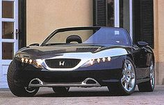 Pininfarina 1995 Honda Argento Vivo Spider Front View Thickr Tags Show Black Car Gold Spyder Concept Brunei Sportscar