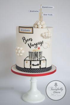 12 Exciting Bon Voyage Cake Images Farewell Cake Bon