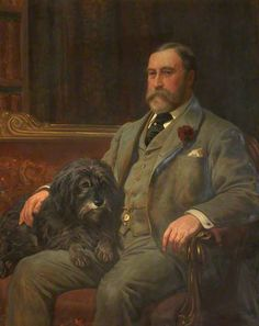 James Griffith Dearden, Lord of the Manor of Rochdale, by John Charlton (1849-1917)