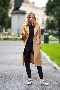 inspiracion outfit abrigo camel