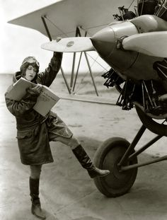 "Dorothy Sebastian (1929)  … ""How to Fly an Airplane"""