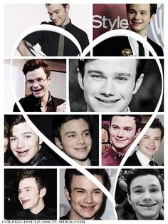 Chris Colfer smiling is one of the most important things in this world.