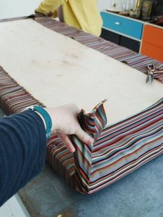 How To Make An Easy No Sew Cushion