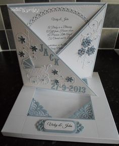 NEW BABY BOY CARD & BOX by: carolynshellard