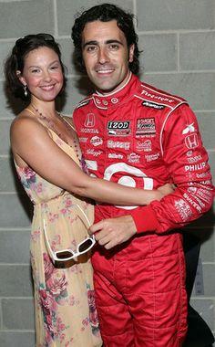 2010 Indy 500 - Ashley Judd & Dario Franchitti after win