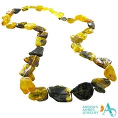 Amazing Amber Brooch Genuine Baltic sea beads Cognac Honey Grey mix colours