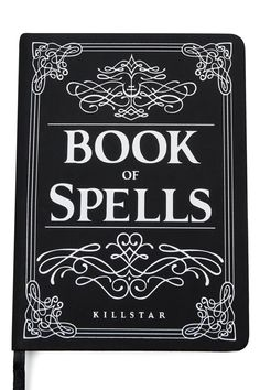 BOOK OF SPELLS. You don't need to become a Witch - you just realize that you always were one. - 120 page Journal. A place for getting yer random thoughts, plans and lists down. with KILLSTAR branding, Paper. Witchcraft Meaning, Witchcraft Books, Real Love Spells, Powerful Love Spells, Spells For Beginners, Witchcraft For Beginners, Wiccan Spell Book, Wiccan Spells, Magic Spells