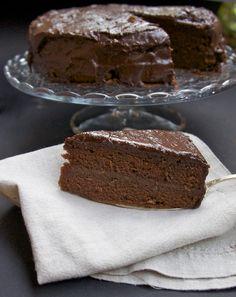 Sachertorte - Cakes n Treats - Desserts Chocolate Hazelnut, Chocolate Recipes, Chocolate Cake, No Bake Cake, Tart, Chocolate Pictures, Treats, Cakes, Baking