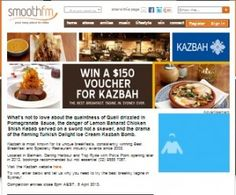 Win A $150 Kazbah Voucher
