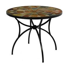 Sol 72 Outdoor Hiebert Dining Table & Reviews | Wayfair.co.uk Granada, Round Folding Table, Outdoor Furniture, Outdoor Decor, Slate, Brown And Grey, Earthy Colours, Dining Table, Fields