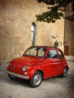 Montepulciano. FIAT 500 | Flickr - Photo Sharing!