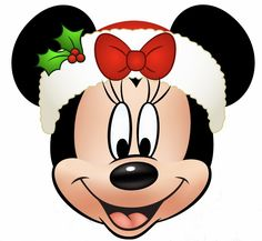 My Disney Life: Minnie and Mickey Christmas Printables