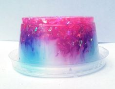 This glitter avalanche slime is a ...