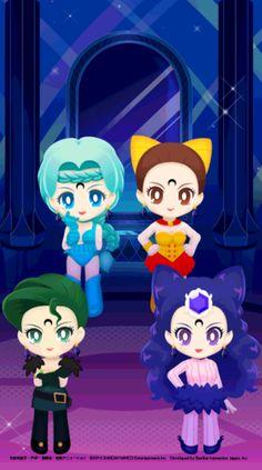 The Four Phantom Sister  Black Moon Clan by Sailor Moon Drops.