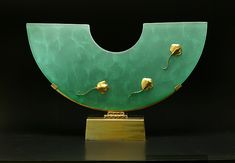 Stingray Sculpture: Georgia Pozycinski, Joseph Pozycinski: Art Glass & Bronze Sculpture | Artful Home