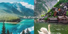 Good earnings Online Work, Waterfall, Mountains, Internet, Travel, Outdoor, Money, Easy, Outdoors