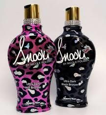 Snooki tanning lotions. I've been using the purple... smells amazing before and after.