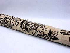 Elegant draft stopper/blocker for your door or window/sand brown floral fabric just $16.99 select size