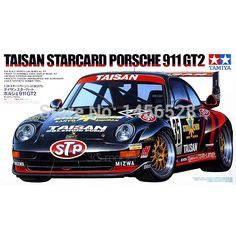Tamiya scale model 24175 1/24 scale car TAISHA  911 GT2 assembly Model kits scale models car building plastic scale model kits